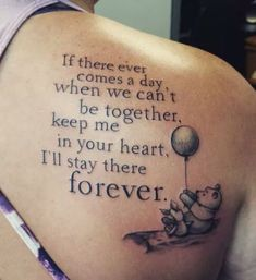 Touching and loveable tattoo idea for women