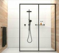In der Vorstellung vieler Menschen verfügt die moderne begehbare Dusche über gar keine Tür und besteht aus Glas. Das ist der so genannte Walk-In Style.
