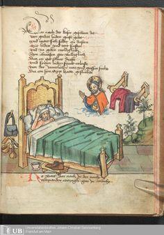 235 [116r] - Ms. germ. qu. 12 - Die sieben weisen Meister - Page - Mittelalterliche Handschriften - Digitale Sammlungen Frankfurt, 1471