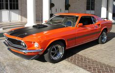 I want to get my dad a burnt orange 1969 Mach 1 Cobra Mustang, much like the one he owned over 40 years ago. It's the least I can do in return