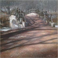 "Евгений Терехов ""старый мост"". Санкт Петербург 2017г"