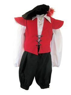 Boy's Medieval Tudor Costume Age 7 - 8 - Complete Costumes, Costume Hire