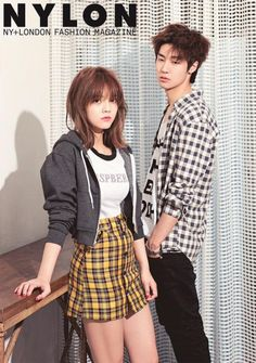 """AOA""""s Jimin and N.Flying's J.Don Are Featured in Nylon Magazine 