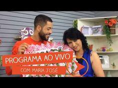 Centro de Mesa Florido com Maria José   Vitrine do Artesanato na TV - YouTube