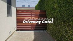 Mangaris Wood Swing Gate | Mulholland Security Los Angeles 1.800.562.5770 https://gateslosangeles.com   When customers come to us asking for a beautiful wood gate we have to make sure that they are educated about the qualities of various species of wood.   In general wood is beautiful but due to its organic matter it deteriorates rapidly.   A practical solution is to use the Mangaris brand of balau wood.   Mangaris is a registered brand of top quality hardwood decking line manufactured from…