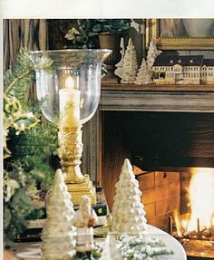 "Charles Faudree...french country Christmas at ""The Roost""."