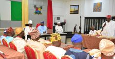 """On Friday Lagos State Governor Akinwunmi Ambode received on courtesy visit members of the Lagos State Council of Obas and Chiefs led by the Oba of Lagos Oba Rilwan Akiolu who said that the state would continue to support every effort made to keep the unity of the country especially by maintaining peace and accommodating all. At the meeting Governor Ambode said  """"we are happy also that we are very accommodating. We are also happy that we allow people from other tribes to live with us and we…"""