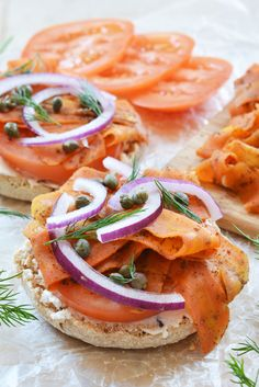 Vegan Carrot Lox - The Colorful Kitchen