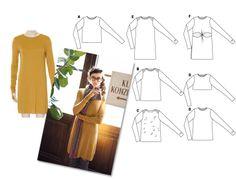 patron gratis Cómo hacer un Vestido de Rayas Marinero. #DIY