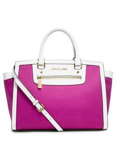 Selma Large Zip Satchel | Lord and Taylor