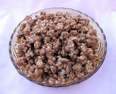 Protein popcorn - Healthy