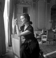 Vivien Leigh in Paris, 1947