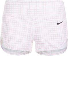 Nike Performance ACE COURT - kurze Sporthose - white/black - Zalando.de