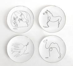 Pablo Picasso, Le Dompteur et le Cheval, series of 4 plates