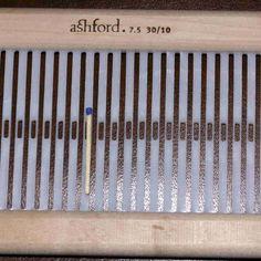 Ashford Webblatt 30/10 f. Rigid Heddle 60cm - Heikes Handgewebtes