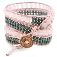 Tricks to Laddering   Free Multi-Wrap Bracelet Project Tutorial – Beadshop.com