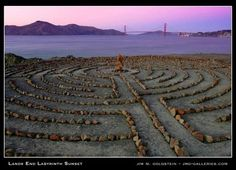 Lands End Labyrinth in San Francisco, photo by Jim Goldstein