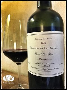 Score 90/100 Wine review, tasting notes, rating of la Rectorie Cuvée Léon Parcé Banyuls fortified. Description of aroma, palate, flavor. Join the experience.