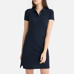 Tommy Hilfiger Slim Polo Dress Robe Femme