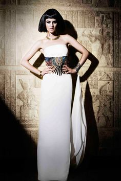Zaeem Jamal presents stunning Ancient Egyptian collection at Rivaage » La Moda Dubai fashion website%