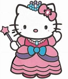 How To DIY Hello Kitty Princess {or any other} Invitations Hello Kitty Clipart, Hello Kitty Art, Hello Kitty Theme Party, Hello Kitty Themes, Hello Kitty Pictures, Kitty Images, Kitty Photos, Hello Kitty Backgrounds, Hello Kitty Wallpaper