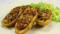 """La mia cucina etica: """"Bucce"""" di patate ripiene"""
