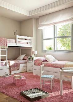 Dormitorul poate fi și un loc perfect de joacă pentru cei mici. Iată o idee cum ai putea să îl amenajezi în așa fel încât camera sa fie plină de lumină și energie.