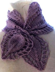 Crocheted long lace scarf - LoveItSoMuch.com
