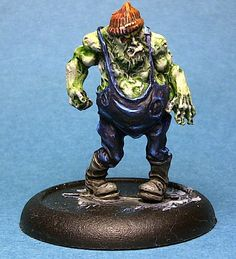 Malifaux Mindless Zombie Master Chief, Steampunk, Horror, Joker, Miniatures, Fictional Characters, Art, Craft Art, Kunst