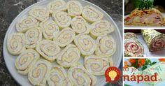 9 receptov na bezkonkurečné slané rolády!