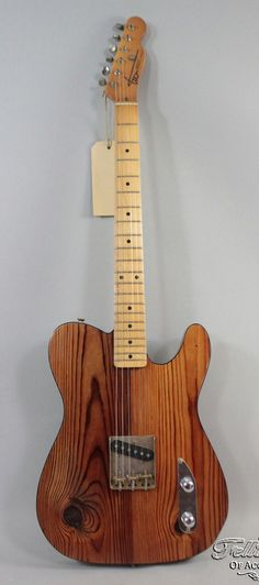 Love those knotty pine guitars. - Rebel Relics