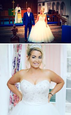 "Charlotte Mottram: ""Thanks so much for your kind wishes. We had a fab day! Real Weddings, Charlotte, Bride, Wedding Dresses, Day, Shopping, Beautiful, Fashion, Wedding Bride"
