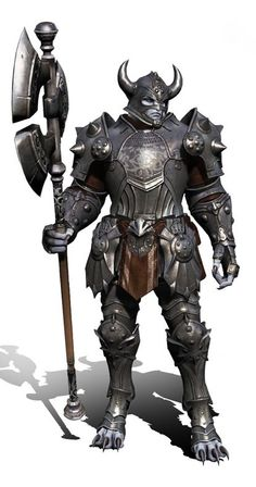 guard fighter knight soldier platemail armor clothes clothing fashion player character npc | Create your own roleplaying game material w/ RPG Bard: www.rpgbard.com | Writing inspiration for Dungeons and Dragons DND D&D Pathfinder PFRPG Warhammer 40k Star Wars Shadowrun Call of Cthulhu Lord of the Rings LoTR + d20 fantasy science fiction scifi horror design | Not Trusty Sword art: click artwork for source
