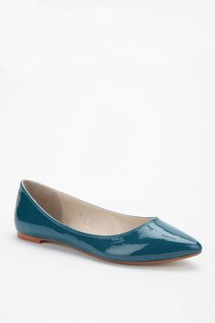 love this color! - Deena and Ozzy Pointy Skimmer from Urban Outfitters ($29)