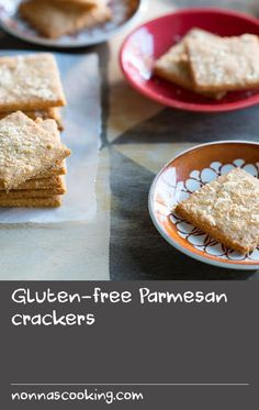 Gluten-free Parmesan crackers | These more-ish crackers pack a punch when it comes to flavour, and you'd never guess they were gluten-free. Serve on their own or with a soft fresh cheese, such as a goat's curd or ricotta.