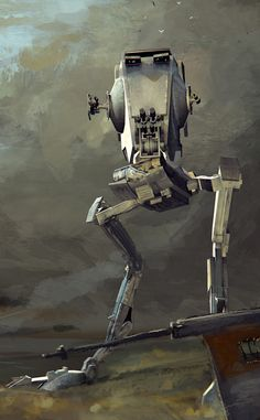 AT-ST by Jacek Babinski Star Wars