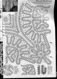 View album on Yandex. Bruges Lace, Crochet Motif Patterns, Bobbin Lace Patterns, Tatting Patterns, Filet Crochet, Crochet Lace, Irish Crochet Tutorial, Russian Crochet, Point Lace