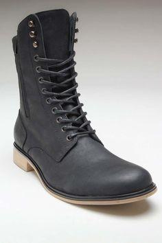 battlefield boots for a tough-girl ensemble