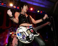 Joan, rocking, like I wish I could.