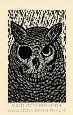 'Owl' by Liv Rainey-Smith
