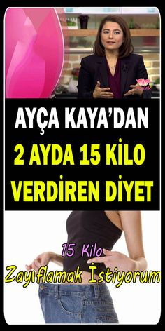 Ayça Kaya 2 Weight Loss Diet in 15 Monaten - Gesundheit Kaya, Diet Recipes, Healthy Recipes, Food Tags, Health And Beauty, Natural Remedies, Meal Planning, Detox, Healthy Lifestyle