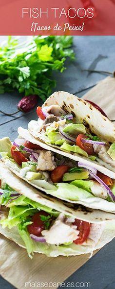 Fish Tacos | Malas e Panelas