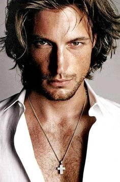 Gabriel Aubry. Oh Halle Berry, thank god your mommy taught you to give your unwanted items to the less fortunate. I accept! #HalleBerryBabyDaddy