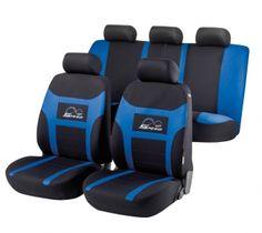 Autositzbezug Speed Up blau