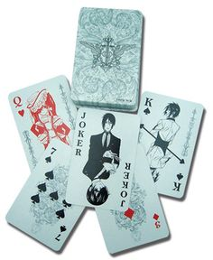 Black Butler Playing Card on Crunchyroll