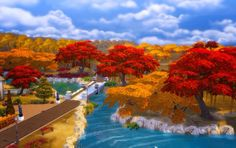 Sims 4 autumn mod. I love this!