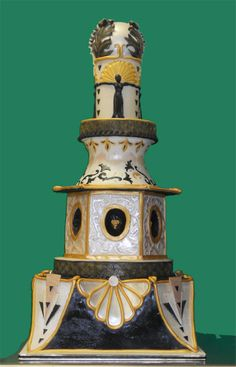 Art Deco cake - competition cake