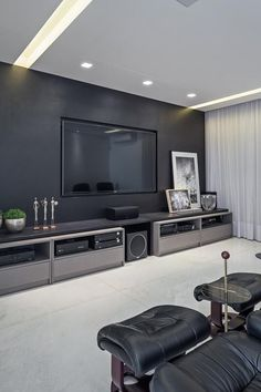 tv wall mounting ideas to create the perfect display for your living room or bedroom decor post 1 Living Room Tv Cabinet, Living Room Bedroom, Interior Design Living Room, Bedroom Decor, Design Bedroom, Tv Cabinet Design, Tv Wall Design, Ikea Design, Media Room Design