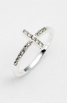 Cross Ring, simple.