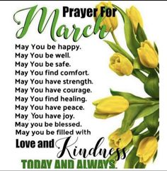 Good morning Blessings for you today! Month Of March Quotes, Happy New Month Quotes, February Quotes, Happy Wednesday Quotes, Happy New Month Prayers, Prayers For Men, New Month Wishes, Prayer For You, Prayer Message